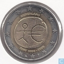 "Coins - the Netherlands - Netherlands 2 euro 2009 ""10th anniversary of the European Monetary Union"""