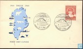 Postage Stamps - Greenland - Thule station