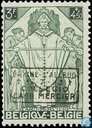 Cardinal Mercier, with overprint