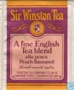 A Fine English Tea Blend alla pesca