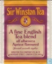 A Fine English Tea Blend all' albicocca