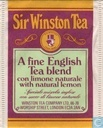 A Fine English Tea Blend con limone naturale