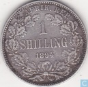 South Africa 1 shilling 1894