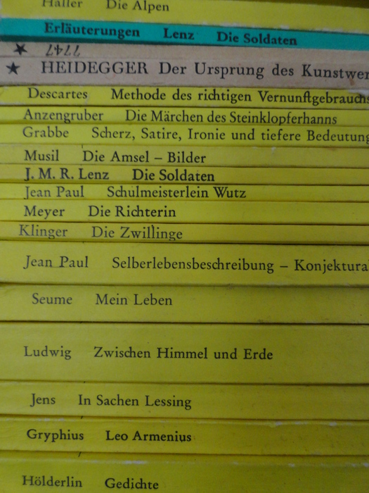 German Literature Lot With 43 Publications From The Reclam
