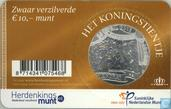 "Netherlands 10 euro 2013 (coincard) ""the king tenner"""