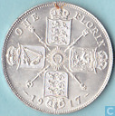 United Kingdom 1 florin 1917
