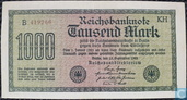 Reichsbank, 1000 Mark 1922 (75i)