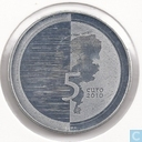 "Netherlands 5 euro 2010 ""Waterland"""