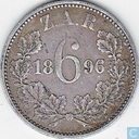 South Africa 6 pence 1896
