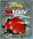 Tea bags and Tea labels - Bio-Active - Big-Active - Bio Power