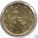 Coins - Italy - Italy 20 cent 2003