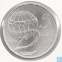 "Italy 5 euro 2003 ""People in Europe"""