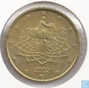 Coins - Italy - Italy 50 cent 2002