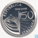 "Italien 5 Euro 2004 (PP) ""50th Anniversary of Italian Television"""