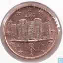 Coins - Italy - Italy 1 cent 2007