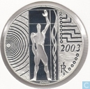 "Italy 5 euro 2003 (PROOF) ""Work in Europe"""