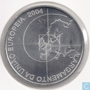 "Portugal 8 euro 2004 (500 Ag) ""European Union enlargement in 2004 with 10 countries"""