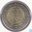"Monnaies - Italie - Italie 2 euro 2009 ""10th Anniversary of the European Monetary Union"""