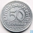 German Empire 1919 50 pfennig (D - Weimar Republic)