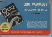Quo Vadimus, or the case for the bicycle