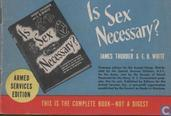 Is sex necessary?