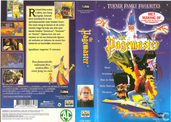 DVD / Video / Blu-ray - VHS video tape - The Pagemaster