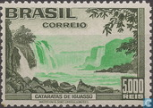 Waterfall Cataratas the Iguassu