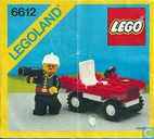 Lego 6612 Fire Chief's Car