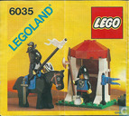Lego 6035 Castle Guard