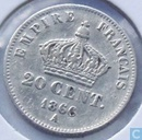 France 20 centimes 1866 (A)