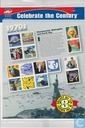 Celebrate the Century 1970's stamp sheet