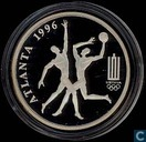 "Lithuania 50 litu 1996 (PROOF) ""Atlanta Olympics"""