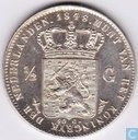 Netherlands ½ gulden 1848
