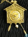 Cuckoo Clock compact for solid perfume