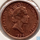 Solomon Islands 1 cent 1996