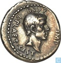 Romeinse Rijk, AR Denarius, 44-42 BC, Marcus Junius Brutus, mobile mint northern greece, 42 BC