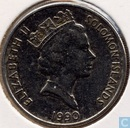 Solomon Islands 10 cents 1990