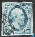 Postage Stamps - Netherlands [NLD] - King William III-1st emission