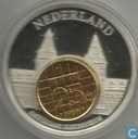 "Nederland 25 cent 1989 ""European Currencies"""