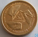 "Nederlandse Antillen 5 gulden 2004 ""50 Years Charter for the Kingdom of the Netherlands - End to Dutch colonial Rule"""
