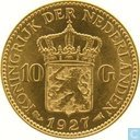 Netherlands 10 gulden 1927