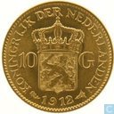 Netherlands 10 gulden 1912