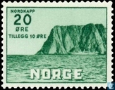 Postage Stamps - Norway - North Cape