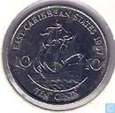 Eastern Caribbean States 10 Cent 1987