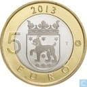 "Finland 5 euro 2013 ""Church of St. Lawrence - Tavastia"""
