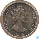 Cayman Islands 10 cents 1996