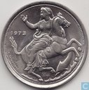 "Greece 20 drachmai 1973 (wide rim, broken waves) ""The coup d ' état of 21 April 1967"""