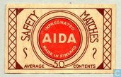 Oudste item - AIDA Impregnated safety matches