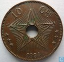 Congo free State 10 centimes 1894