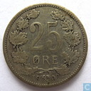 Norway 25 øre 1902